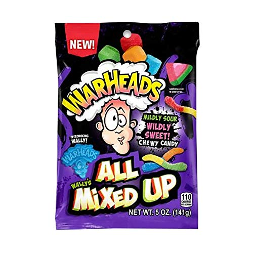 Warheads All Mixed Up 141 g American Sweets