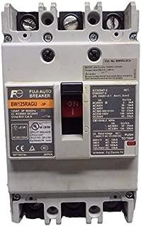 Fuji Electric, BW125RAGU-3P125, G-TWIN series Molded Case Circuit Breaker, 50kA, Line protection, 125A 3P
