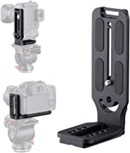 DSLR Camera L Bracket Vertical Horizontal Switching Tripod Head Quick Release Plate Arca Swiss Compatible with Canon 80D 5D Mark i 7D Sony a7riii a7rii A7S a6000 a6500 Nikon D750 D850 D3400 Gimbal