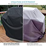 Unicook 2 Burner Barbecue Cover, Heavy Duty Waterproof Outdoor BBQ Grill Cover, Fade and UV Resistant Oxford Fabric… 3