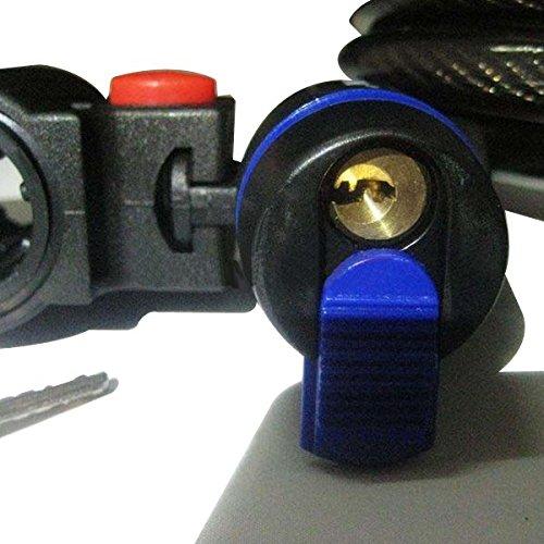 MXBIN China Lock Allgemein TONYON TY533 Fahrradschloss Motorradschloss Ring Typ Schloss Werkzeuge zur Reparatur von Ersatzteilen