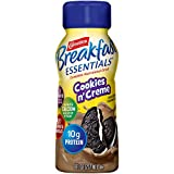 Carnation Breakfast Essentials Ready-to-Drink, Cookies n' Creme, 8 Ounce Bottle...