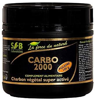 Charbon Végétal Super Activé Poudre 100 G Charbon Végétal Super Activé Poudre 100 G