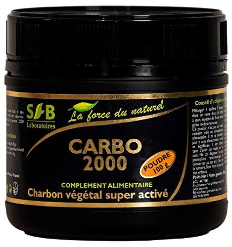 SFB - Charbon Végétal Activé Poudre - Aktive-Kohle-Pulver - 100 g