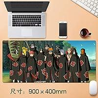 特大アニメ マウスパッド NARUTO -ナルト- はたけ カカシ 春野サクラ うちは イタチ うずまき ナルト PC パソコン 周辺機器 同人漫画のキャラクターのマウスパッド