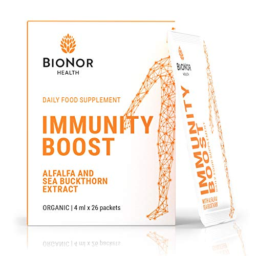 Bionor Health | Strong Nordic Immune Booster with Alfalfa & Sea Buckthorn | Replace Immune System Vitamins, Vitamins for Immune System, Immune Support, Immune Booster Supplement, Immune System Booster