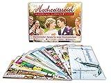Hochzeitsspiel Hochzeitsgutscheine für das Brautpaar – Das lustige Hochzeits-Spiel mit 4 Spielmöglichkeiten für Jede Hochzeitsfeier. Inklusive 12 Gutscheinen als Spielgewinn für das Brautpaar.