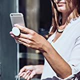 Wooden Spoon Leather Belt Wooden Yard Stick Raised PopSockets Grip and Stand for Phones and Tablets