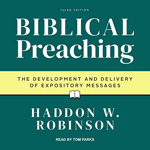 Biblical Preaching audiobook cover art