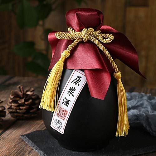 Piner 500ml antieke glazen wijnfles likeur sake pot retro sterke drank pot huishoudelijke kleine witte wijnfles Chinese barware, mat