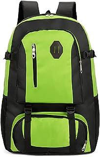 Dengyujiaasj Backpack, Travel Cycling Sports Backpack Ladies Youth School Backpack, Raincoat Outside Large-capacity Backpa...