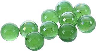 Basage Murmeln 16mm Glasmurmeln Knicker Glaskugeln Deko Farb-Nuggets Spielzeug WEII