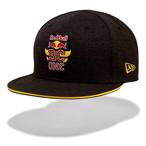 Red Bull BC One New Era 9Fifty Snapback Gorra, Negro Unisexo Large Cap, BCOne Freestyle Dance B-Boy Original Ropa & Accesorios