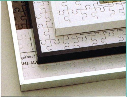 アルミ製パズルフレーム 10 50×75cm ストレッチライン ホワイト