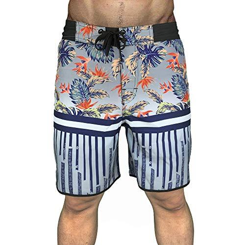 QWEASDZX Shorts Hombre Summer Beach Shorts Surfing Fitness Shorts, Beach Holiday Shorts De Moda De Secado Rápido 32