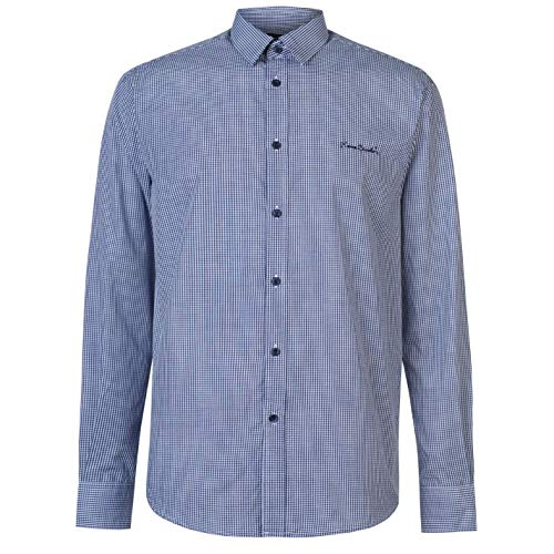 Pierre Cardin Mens Long Sleeve Shirt Top Casual Clothing Wear Buttoned...
