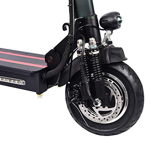 earlyad Mini Scooter Electrico Plegable con Asiento Potente 1200W Patinete Eléctrico 120kg...