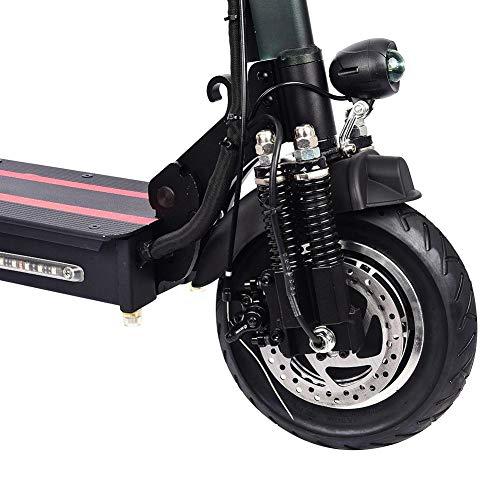 earlyad Mini Scooter Electrico Plegable con Asiento Potente 1200W Patinete Eléctrico 120kg para Adulto Niños hasta 45 Km/h...
