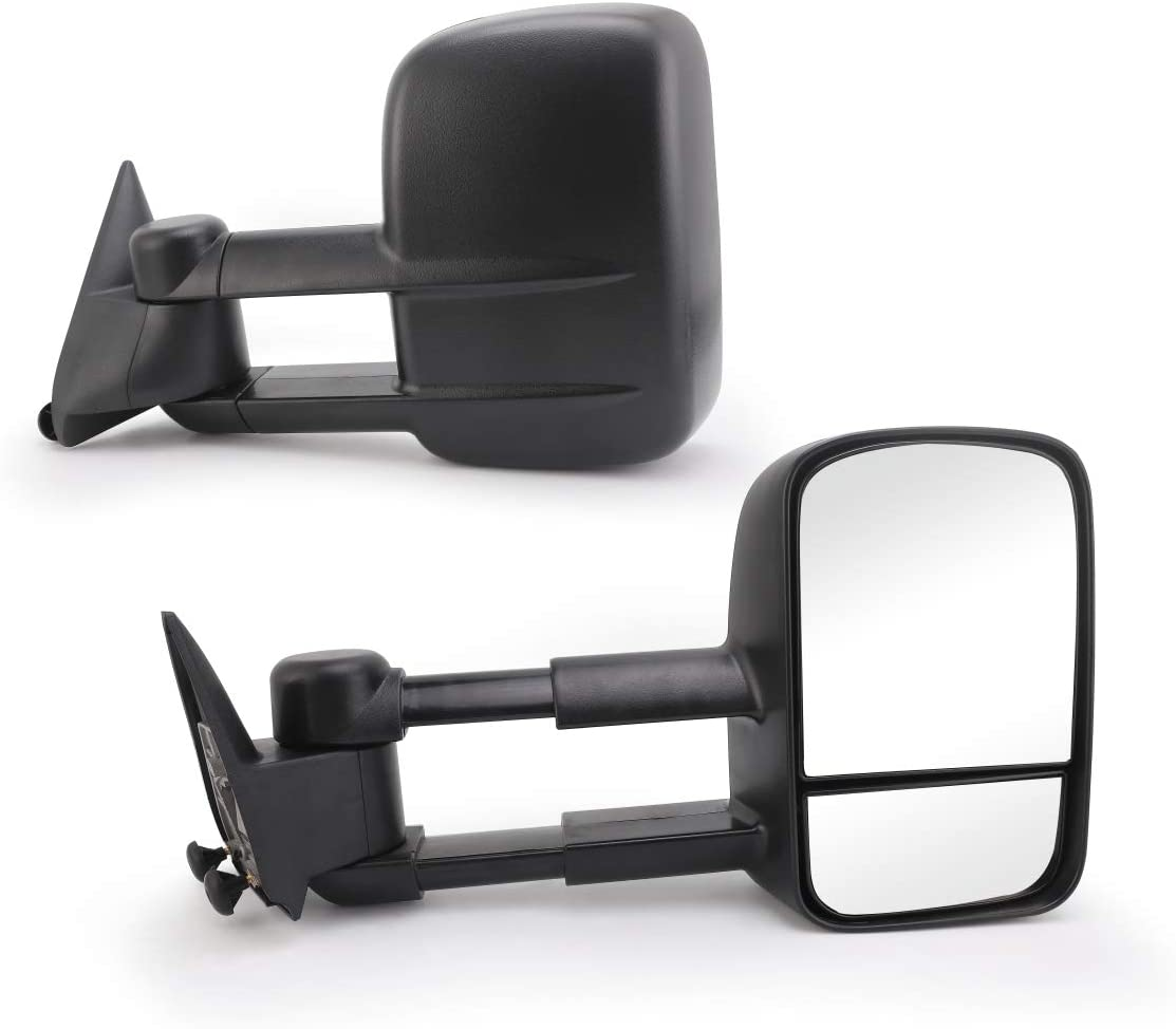 Perfit Zone Towing Mirrors Replacement Fit for 1988-2000 SILVERA