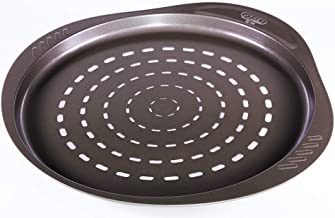 Pyrex Asimetria Non-stick round Pizza Pan, Brown, 32cm