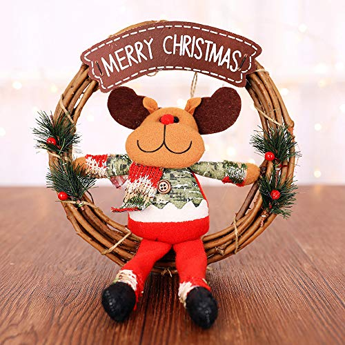 Healifty 5/pcs Vacances n/œuds scintillants Tissu de No/ël N/œud en ruban Cadeau N/œud ruban D/écorations pour arbre de No/ël D/écoration de cadeaux Rouge