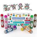 8-pack Washable Dot Markers / Bingo Daubers Dabbers Dauber…