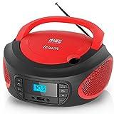 Lauson LLB992 Lettore CD FM/ MP3 / CD Portatile/PLL Stereo Boombox, Lettore USB, Schermo L...
