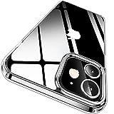 CASEKOO iPhone 12 用 ケース iPhone 12Pro 用 ケース 6.1 インチ クリア 米軍MIL規格 耐衝撃 高透明 SGS認証 カバー ストラップホール付き カバー ワイヤレス充電対応 2020年 アイフォン 12/12Pro 用ケース(クリア)