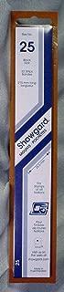 Showgard Strip Style Black Stamp Mounts Size 25