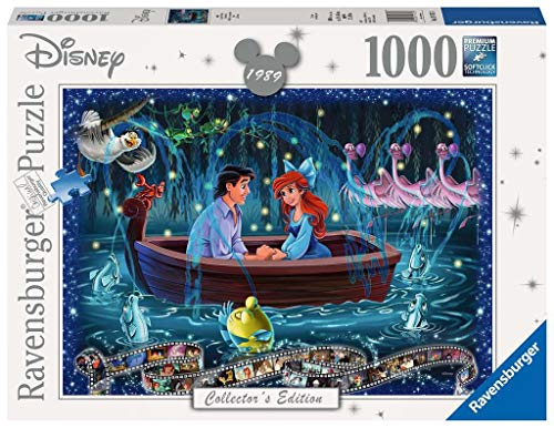 Ravensburger- Puzzles 1000 Piezas, Disney Classic, La Sirenita (19745)