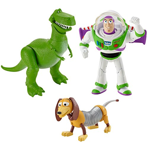 Disney Pixar Toy Story andy's room Set de regalo BUZZ LIGHTYEAR Rex SLINKY perro figuras