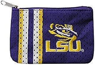 NCAA LSU Tigers Zip Organizer Pebble Wallet