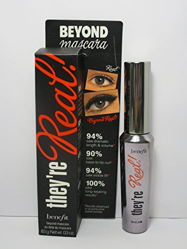 Benefit Cosmetics They#039re Real Mascara BLACK Full Size