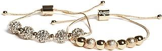 GUESS Factory Women's Gold-Tone Fireball Snake-Chain Bracelet Set, NS