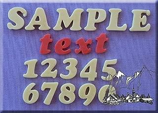 18mm letras mayúsculas y minúsculas galletas letras y números–3d silicona decoración de pasteles molde ideal para decoración de cupcakes y tortas de cumpleaños de cocinar y crear