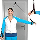 moves carrucola corda con imbrago mani riabilitazione spalla shoulder rope pulley - hand support