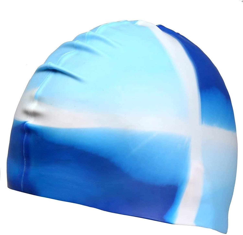 Dreamslink スイムキャップ 快適 ソリッドシリコン スイムキャップ ロングヘアとショートヘアにフィット 水泳帽 メンズ レディース 大人 ユース用