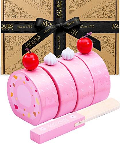 Jaques von London Holzspielzeug Kinder Küchenzubehör | Holz Kuchen Spielzeug ab 2 3 4 5 Jahre | Vorgetäuschtes Spiel Montessori Spielzeug | Seit 1795