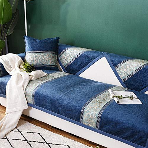 HXTSWGS Funda de sofá Toalla Antisuciedad Funda de sofá Antideslizante Cojines de sofá para la Esquina de la Sala de Estar Funda multifunción-04_70x210cm