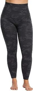 SPANX Plus Size Look at Me Seamless Leggings, Black Camo, 2X x One Size