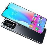 Teléfono Móvil, P40 Plus Smartphone de 6.8' Waterdrop Screen Movil, 64GB ROM, 128GB SD, 18MP+32MP, Android 10 Teléfono Libre Dual SIM, 4800mAh Batería [Clase de eficiencia energética A+++]