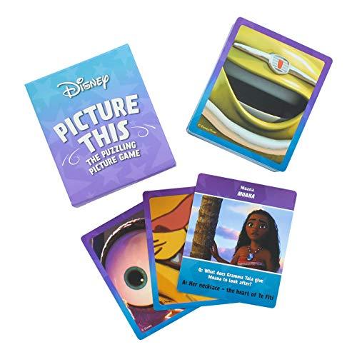 Paladone Disney Picture This Trivia Game con 70 Tarjetas de Fotos (PP6755DSC)
