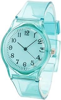Orologio Bambino XYBB I bambini guardano l'orologio trasparente casual Jelly Kids Boys Watch Girls Orologio da polso