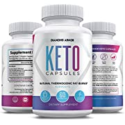 Keto Weight Loss Diet Pills - Ketogenic Fat Burner- Burn Fat Instead of Carbs - Ketosis Supplement - 30 Day Supply