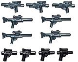 Lego Star Wars 11 pièces arme set, blaster pistole arme d' épaule