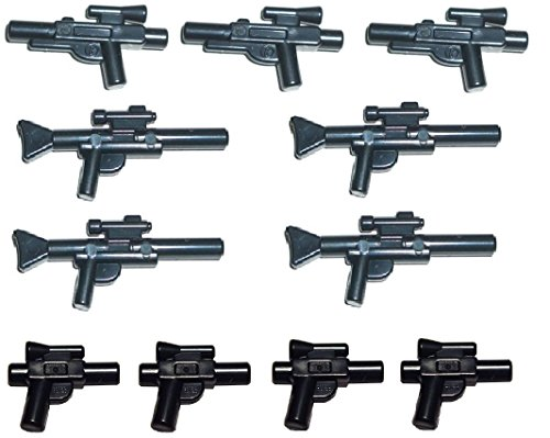 LEGO® Star Wars™ 11-teiliges Waffenset, Blaster Pistolen Gewehre Waffen