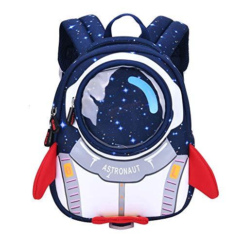 Mochila Infantil De Viaje para Vacaciones Astronauta espacial Mochila Para Niños Mochila Escolar,Mochila Infantil De Viaje Para Vacaciones Kids Camping Backpack (A)
