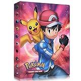 Funmo Pokemon Cartas Álbum, Álbum de Pokémon Álbum Titular de Tarjetas Pokémon, Álbum de Entrenador de Cartas Pokémon Protección, 30 páginas 240 Tarjetas Dobles (Red Xiaozhi)