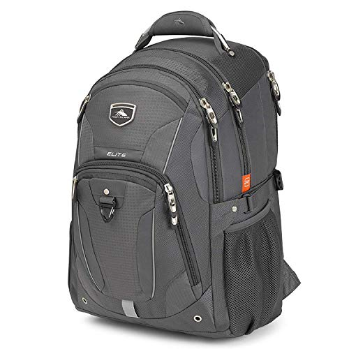 High Sierra Elite Laptop Backpack, 17-inch Student Laptop Backpack