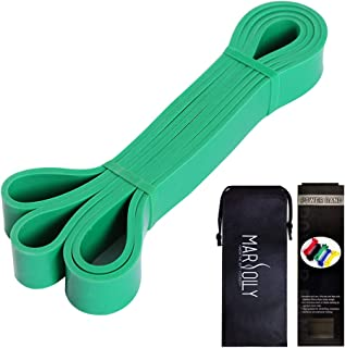 Marsolly Pull Up Bands, Resistance Bands, Pull Up Assist Band Exercise Fitness Strength Weightlifting and Powerlifting- St...